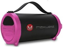 Maxwest Bluetooth Speaker BT2 Pink