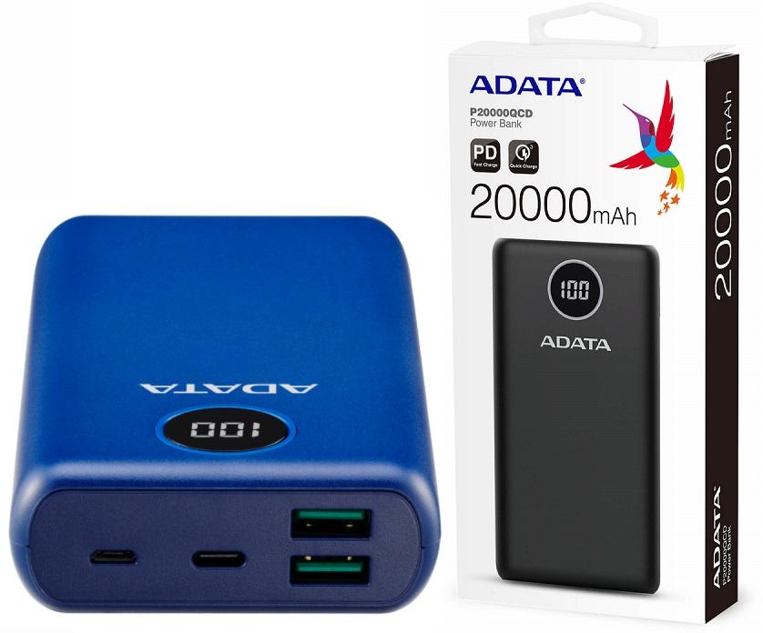 Adata AP2000KQC Powerbank 20000mAh Dark Blue