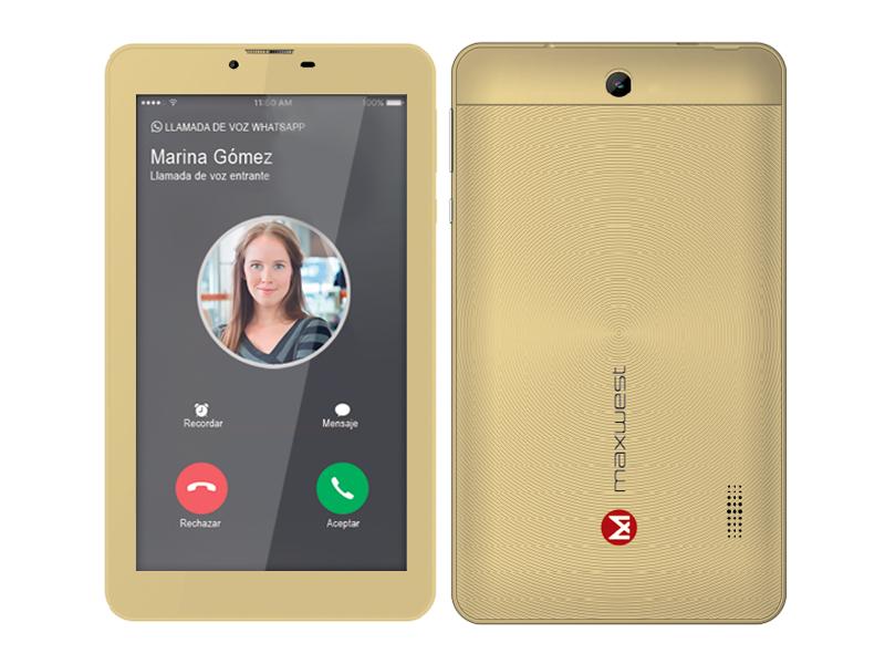 Maxwest Nitro 16GB Phablet 7N Gold - New