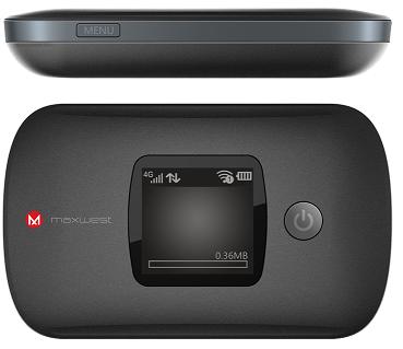 Maxwest HotSpot Hub 4G/LTE Black