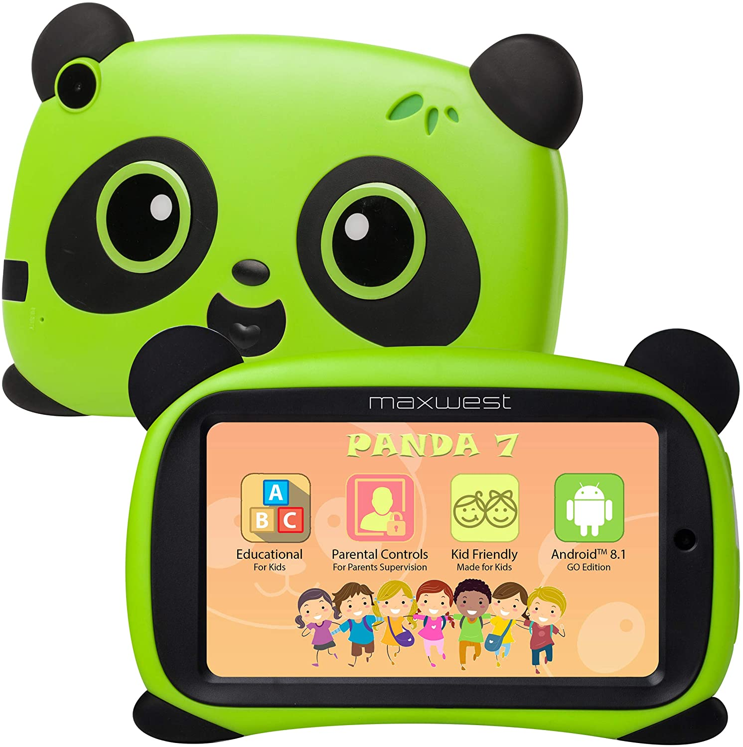 Maxwest Panda7 Wifi Tablet Green