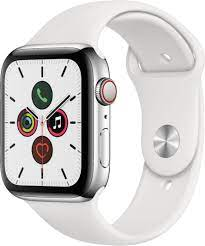 Apple Watch Series 5 GPS (40mm) Silver/White A Stock