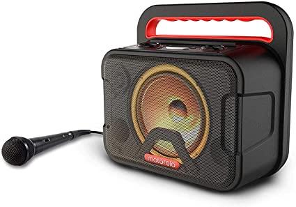 Motorola Party Speaker Sonic Maxx810 + Microphone