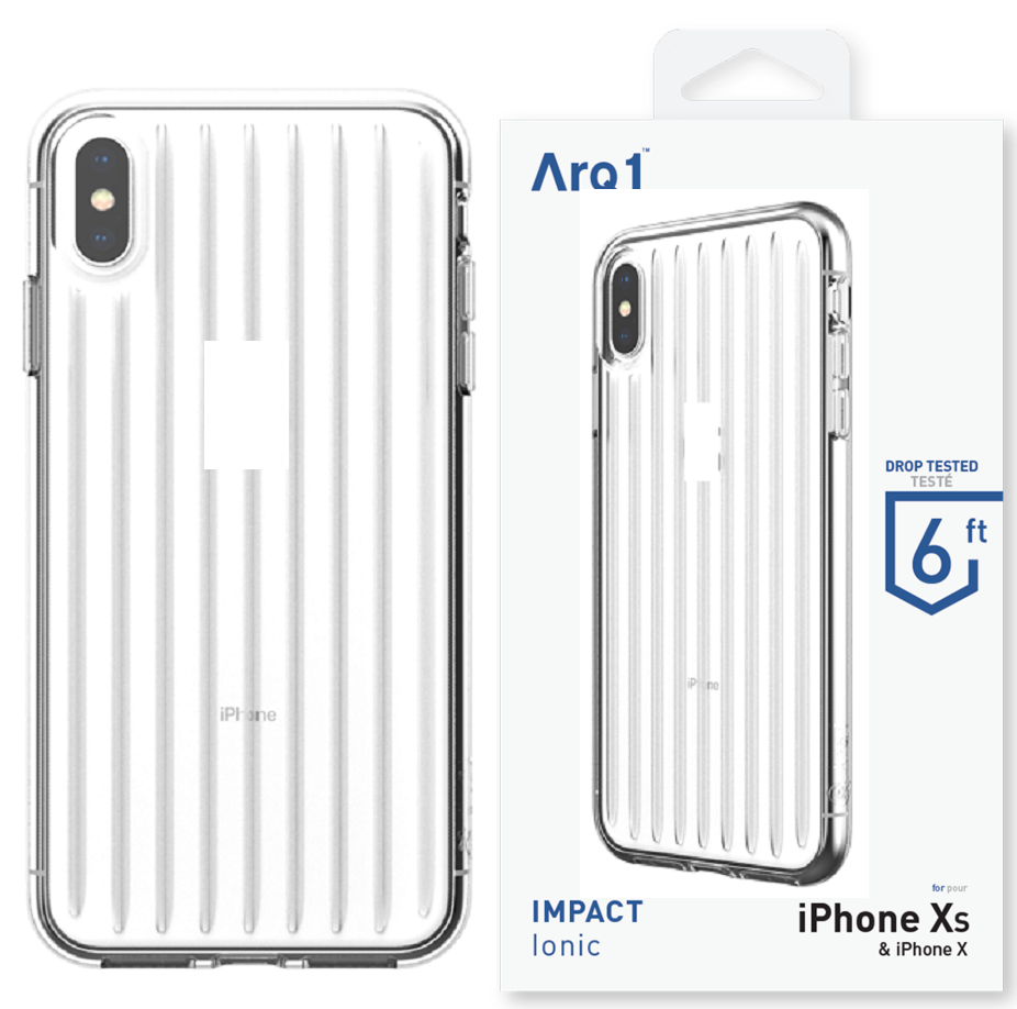ARQ1 Ionic for iPhone Xs Max Case - Clear