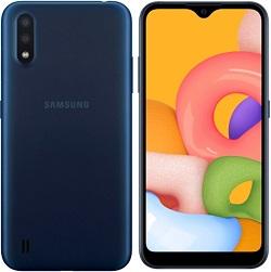 Samsung A015mds 16GB A01 Blue - New