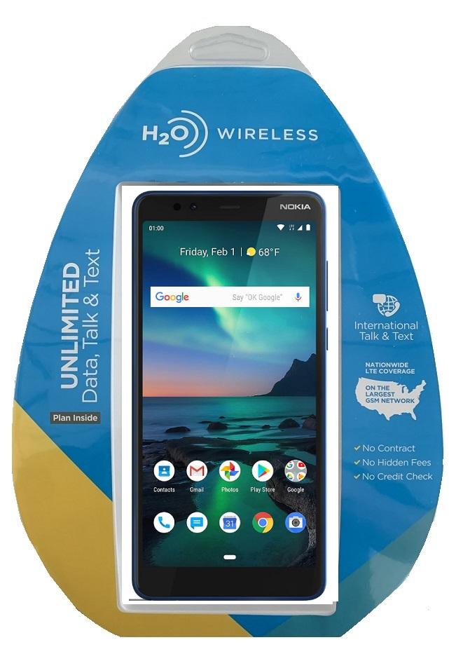 H2O Nokia 3.1 Plus 32GB w/ $40 Plan + extra $60 spiff
