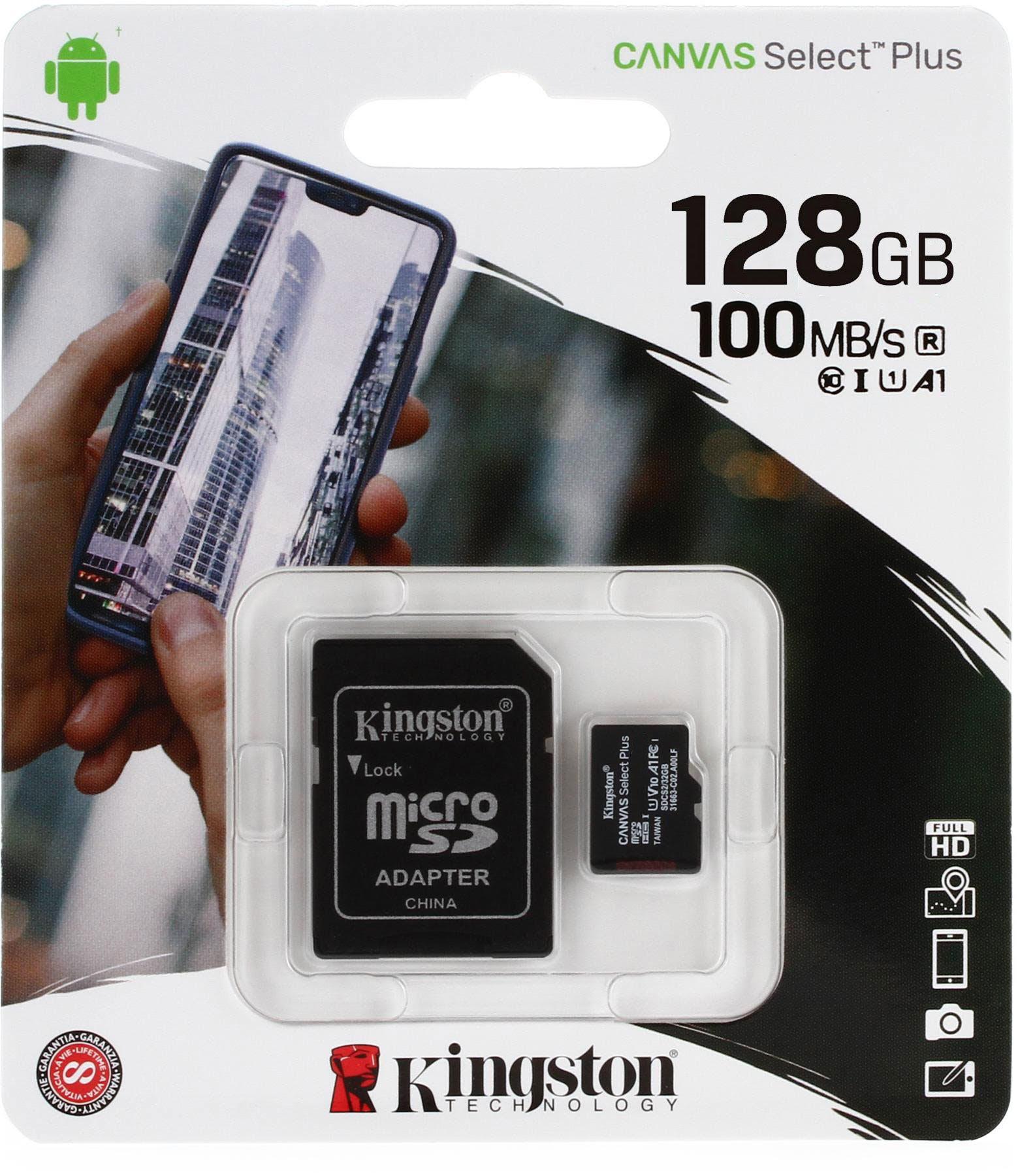 Kingston MicroSD 128GB Class10