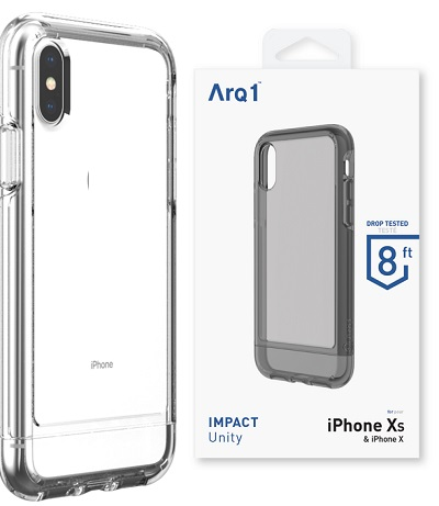 ARQ1 Unity for iPhone Xs Max Case - Clear