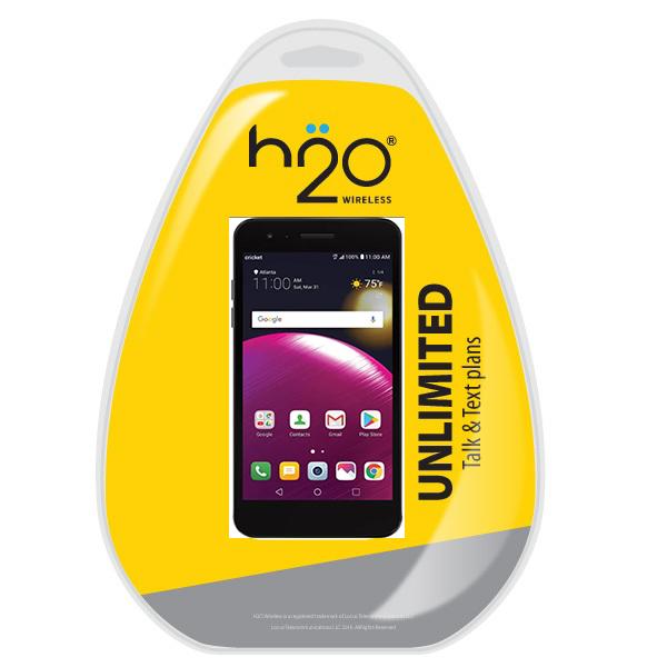 H2O LG Phoenix4 w/ H2O $40 Plan included Black