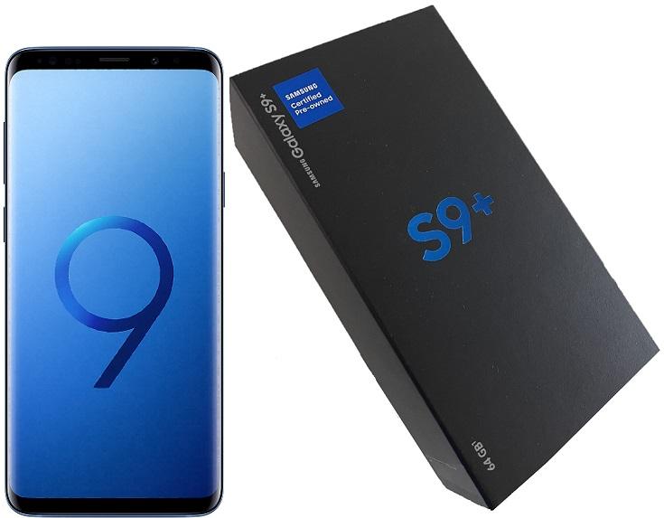 Samsung  S9+ G965u 64gb Blue