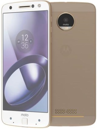 Motorola XT1650 32GB Moto Z White Gold