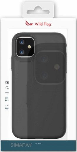 WildFlag Case for iPhone 12 ProMax Black