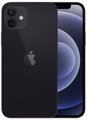 iPhone 12 5G 64GB VZW Black A Stock