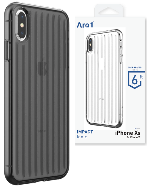 ARQ1 Ionic for iPhone Xs Max Case - Smoke