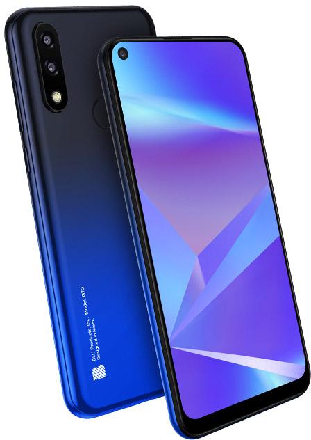 BLU G0250ww G70 32GB Blue New