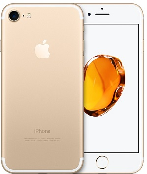 iPhone7 32GB VZW Gold A Stock