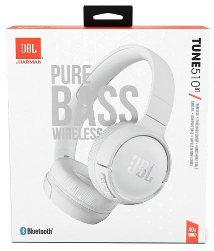 JBL Tune510BT White New
