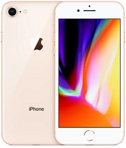 iPHone 8 64GB VZW Gold B Stock