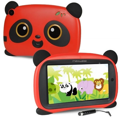 Maxwest Panda7 Wifi Tablet Red