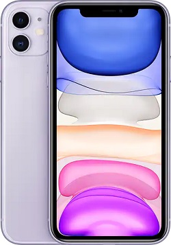 iPhone 11 64GB VZW Purple B Stock