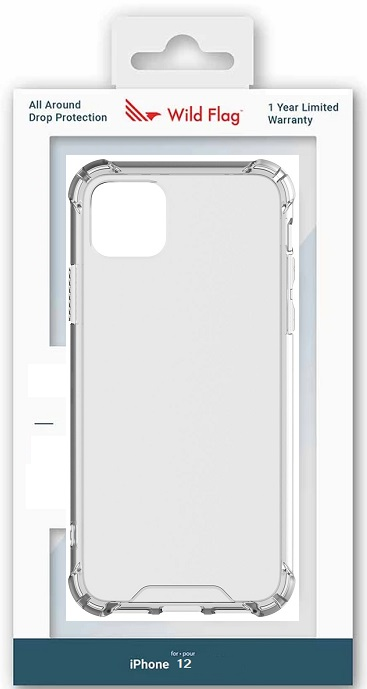 WildFlag Case for iPhone 12 Clear