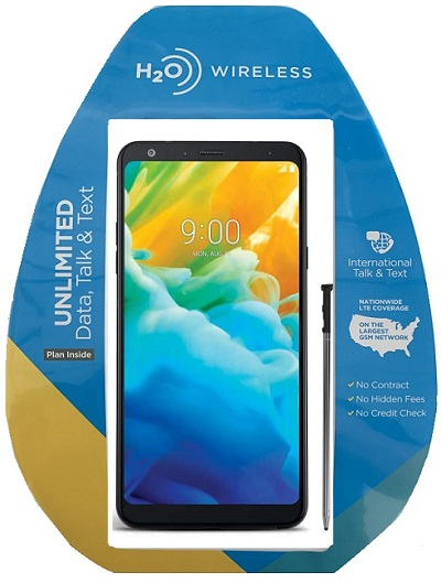 H2O LG Stylo4 with $40 Plan + extra $60 spiff
