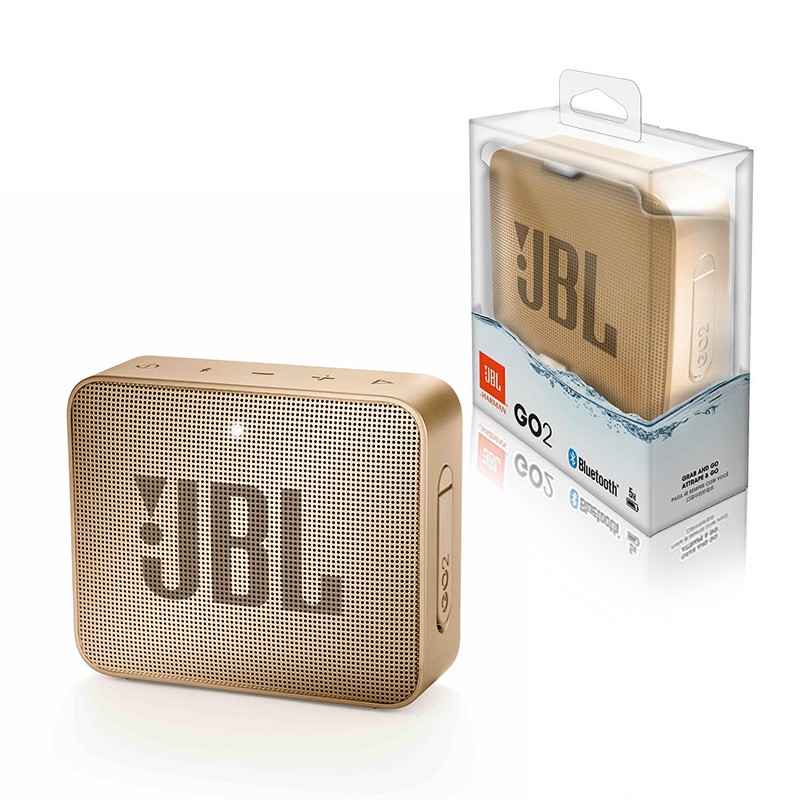 Speaker JBL Go2 Portable Speaker Champagne