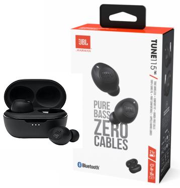 JBL Tune115 TWS Bluetooth Black