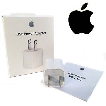 Apple OEM A1385 5W USB Wall Charger Retail Package