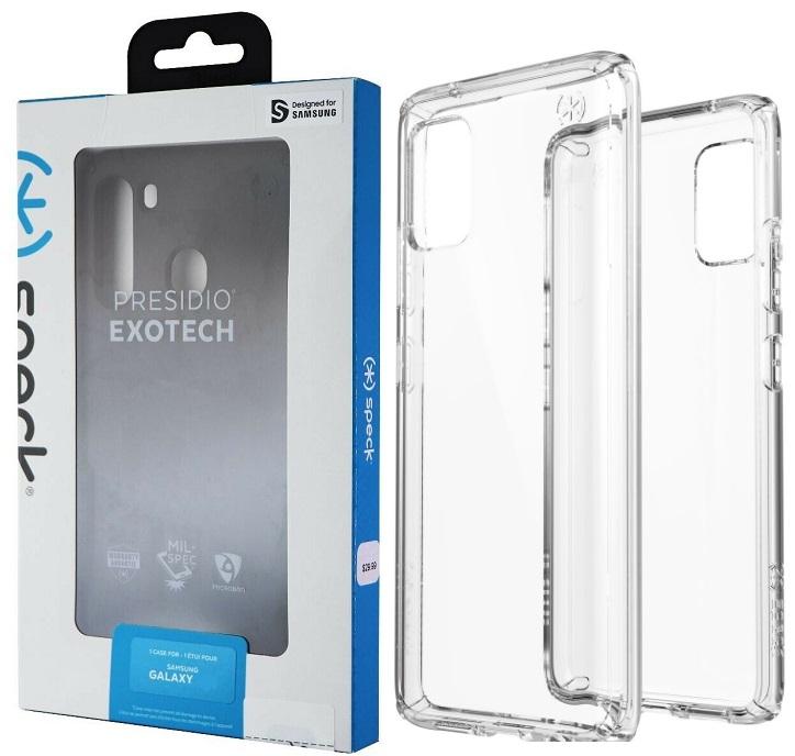 Speck Presidio Case for Samsung A51 LTE - Clear