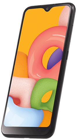 Samsung A01 | A015v 16GB Black A Stock