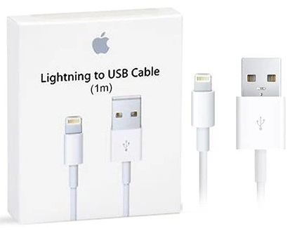Apple OEM Lighting-USB Cable Retail Package - 1m - New