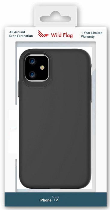 WildFlag Case for iPhone 12 Black