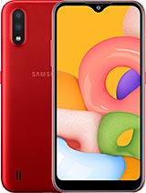 Samsung A015mds 16GB  A01 Red - New