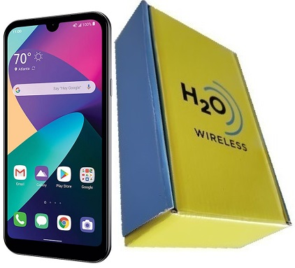 LG Phoenix 5 16GB with H2O SIM Card