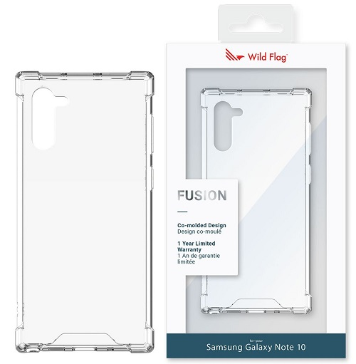 WildFlag Note 10  Fusion Case - Clear