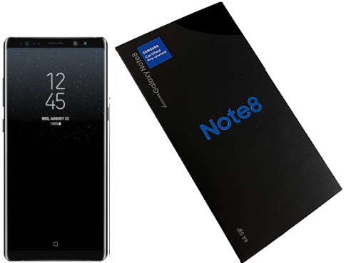 Samsung Note8 N950U 64GB Black