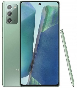 Samsung N980fds Note20 256GB Green New