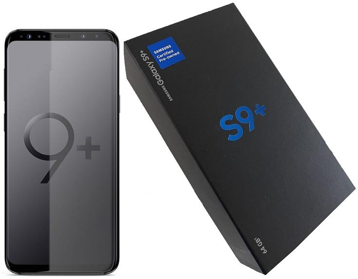 Samsung S9+ G965U 64gb Black