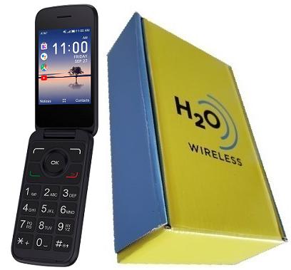 Alcatel 4052r Flip With H2O SIM Card