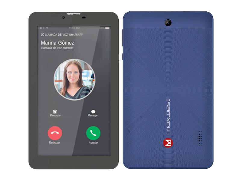 Maxwest Nitro 16GB Phablet 7N Blue - New