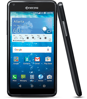 Kyocera Hydro View C6742 8GB Black Certified Pre-Owned