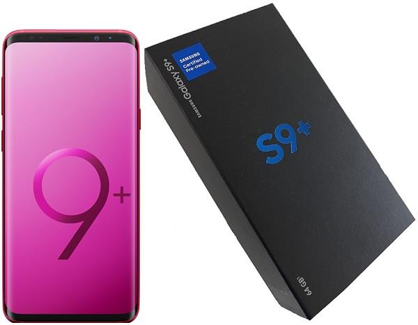 Samsung S9+ G965U 64gb Burgundy Red A Stock