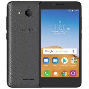Alcatel 5041c 16GB Tetra Black - New