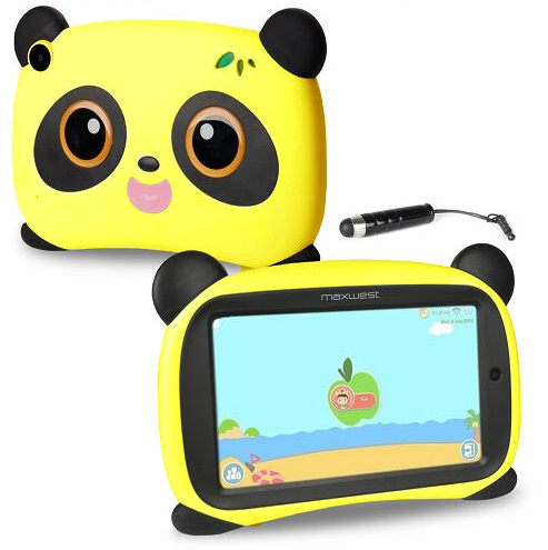 Maxwest Panda7 Wifi Tablet Yellow