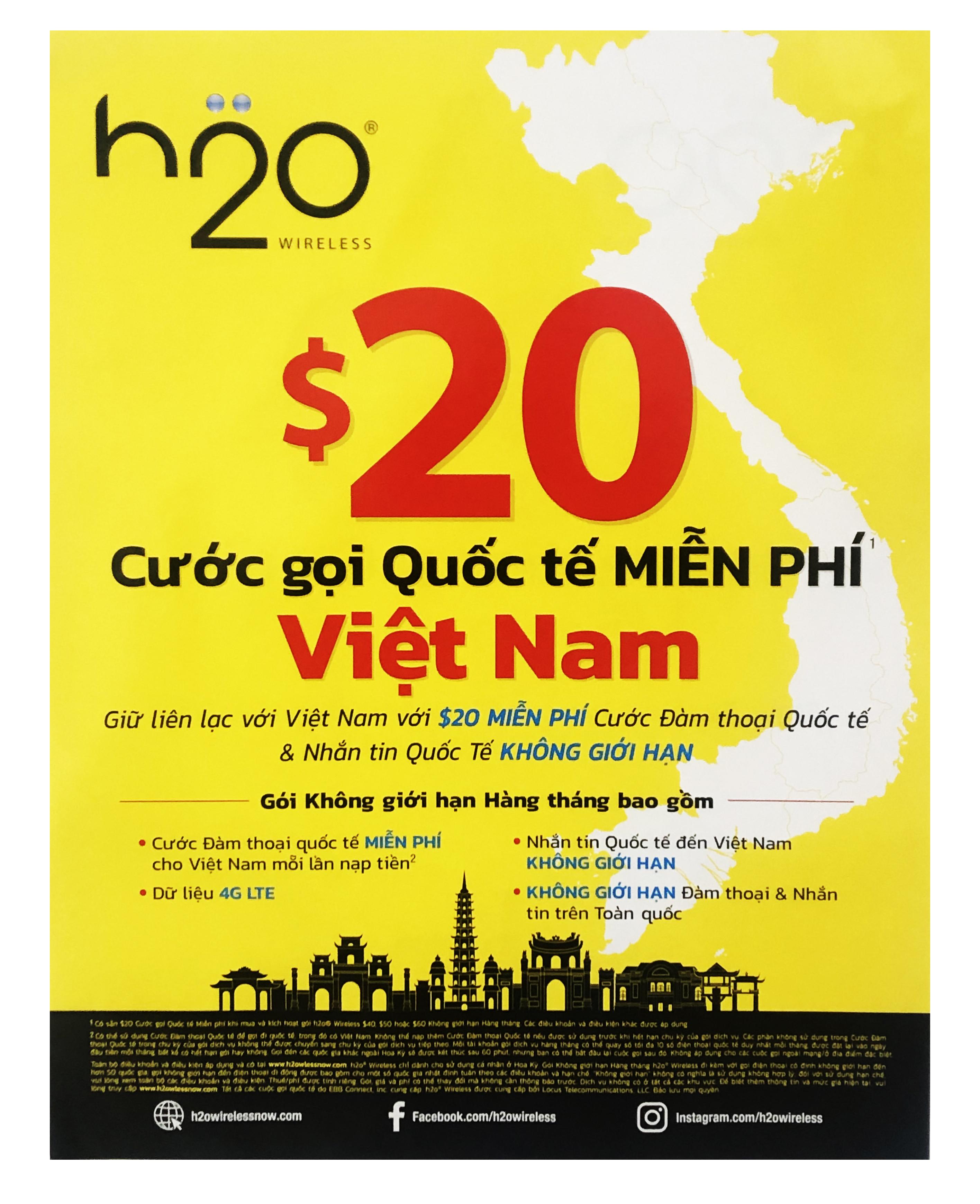 H2O Poster Tiếng Việt / Tiếng Anh