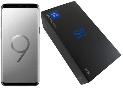 Samsung S9 G960u 64GB Grey