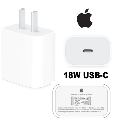 Apple A1720 18W OEM USB-C Power Adapter