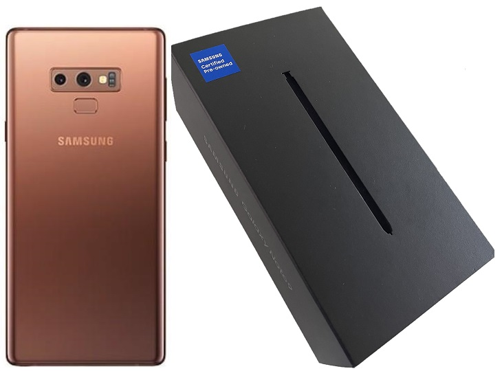 Samsung Note9 N960u 128GB Bronze A Stock