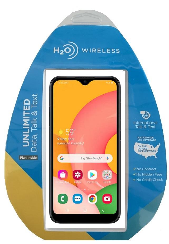 H2O Samsung A01 w/ $40 Plan + extra $60 spiff